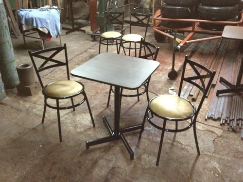 sillas mesas para bar restaurant heladerias cafeterias