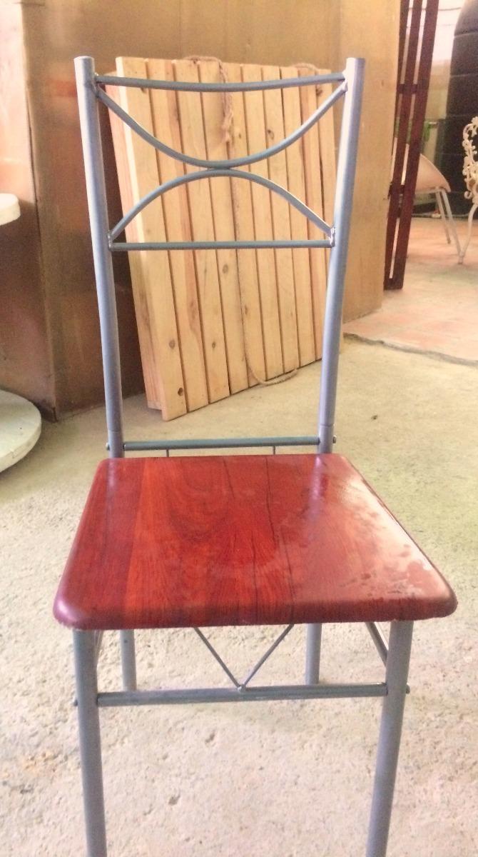 sillas metalicas para comedor cafetin restaurante bs 9 On sillas comedor metalicas