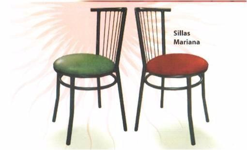 sillas met licas para comedor y cafetin bs en On sillas comedor metalicas