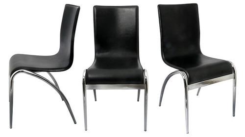 sillas minelli visitantes piel mobiliario oficina