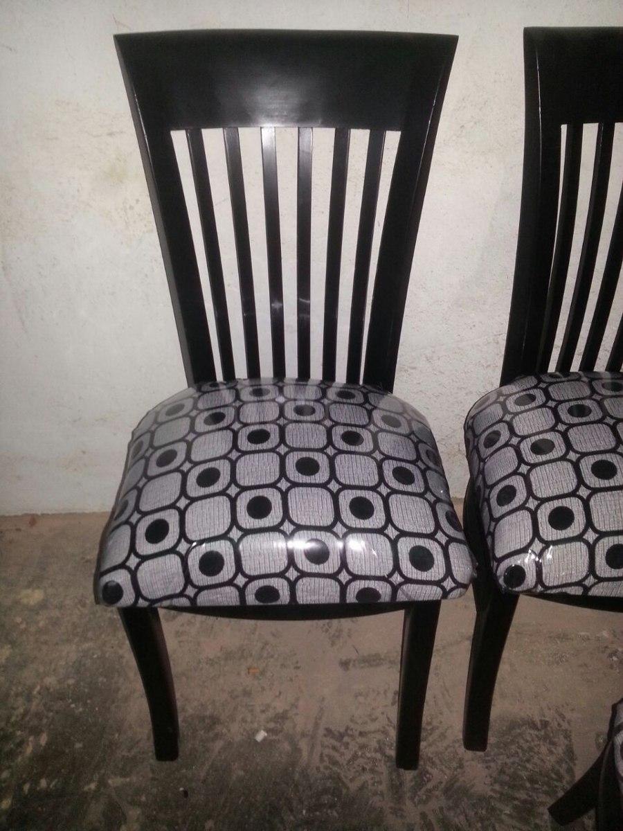 Sillas modernas comedor tapizadas madera bs 85 for Sillas de comedor de madera tapizadas