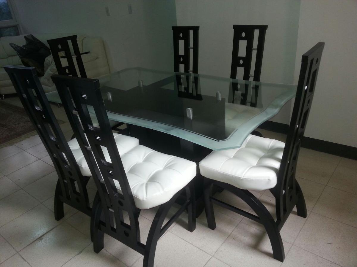 sillas modernas comedor tapizadas madera bs 85