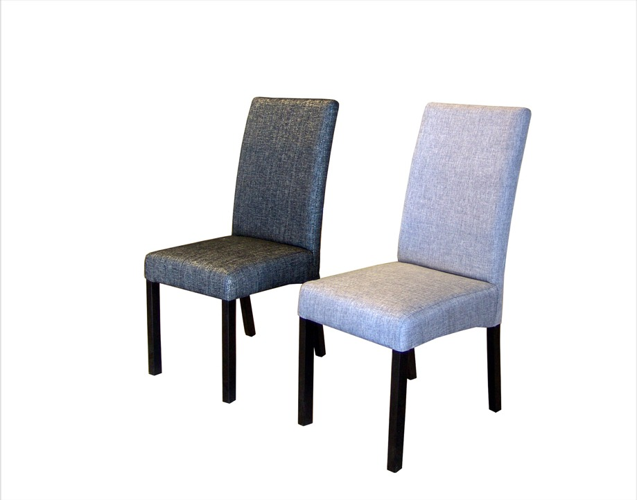 Comedor seis sillas tapizadas muebles el angel 9 890 for Imagenes de sillas para comedor