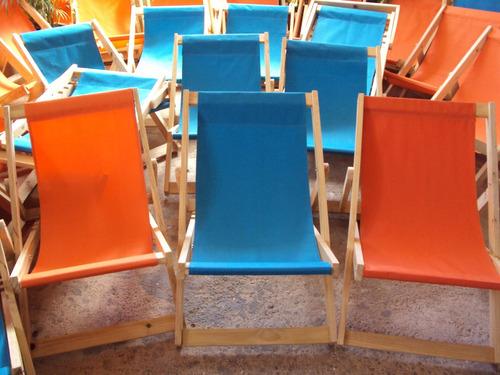 sillas o muebles plegables playeras de madera somos fabrica