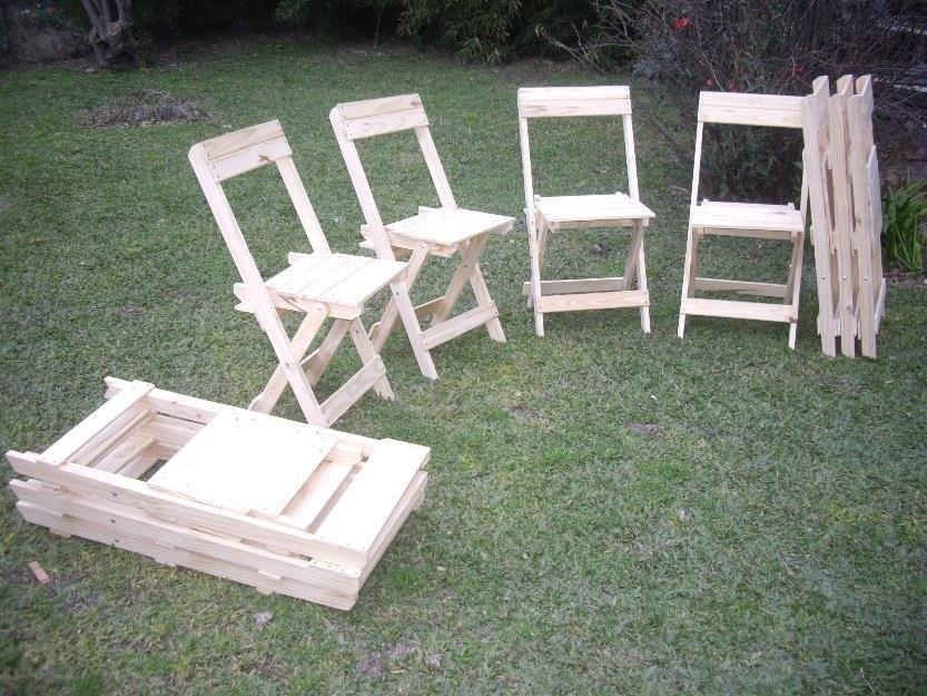 Sillas o silletas plegables de madera para ni os for Silletas para ninos