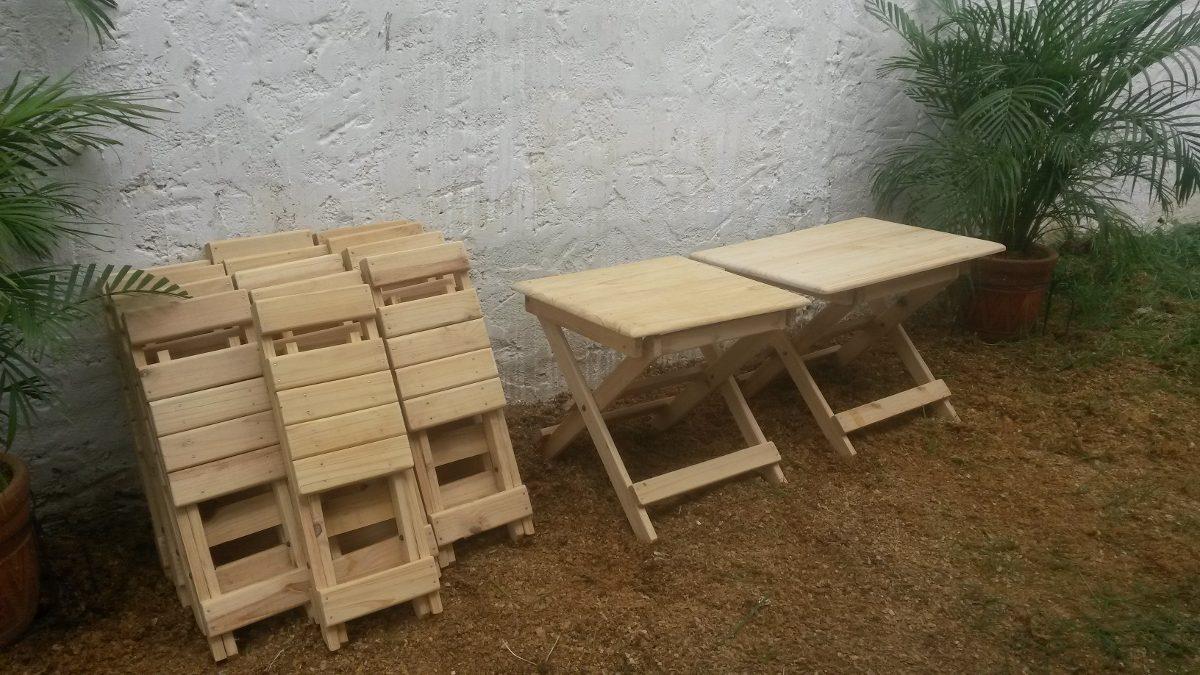 Sillas o silletas plegables de madera para ni os for Compra de sillas plegables