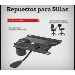 Plato Regulador Para Colunma Sillas De Oficina Repuestos Pc - $ 449 ...