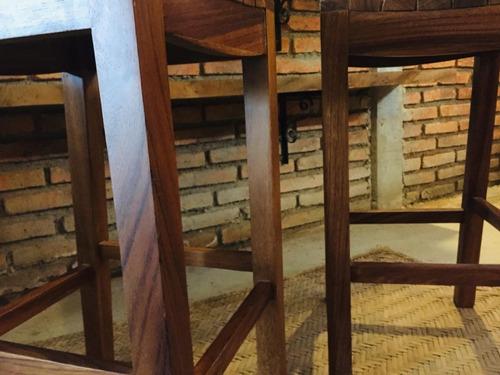 sillas par bancos