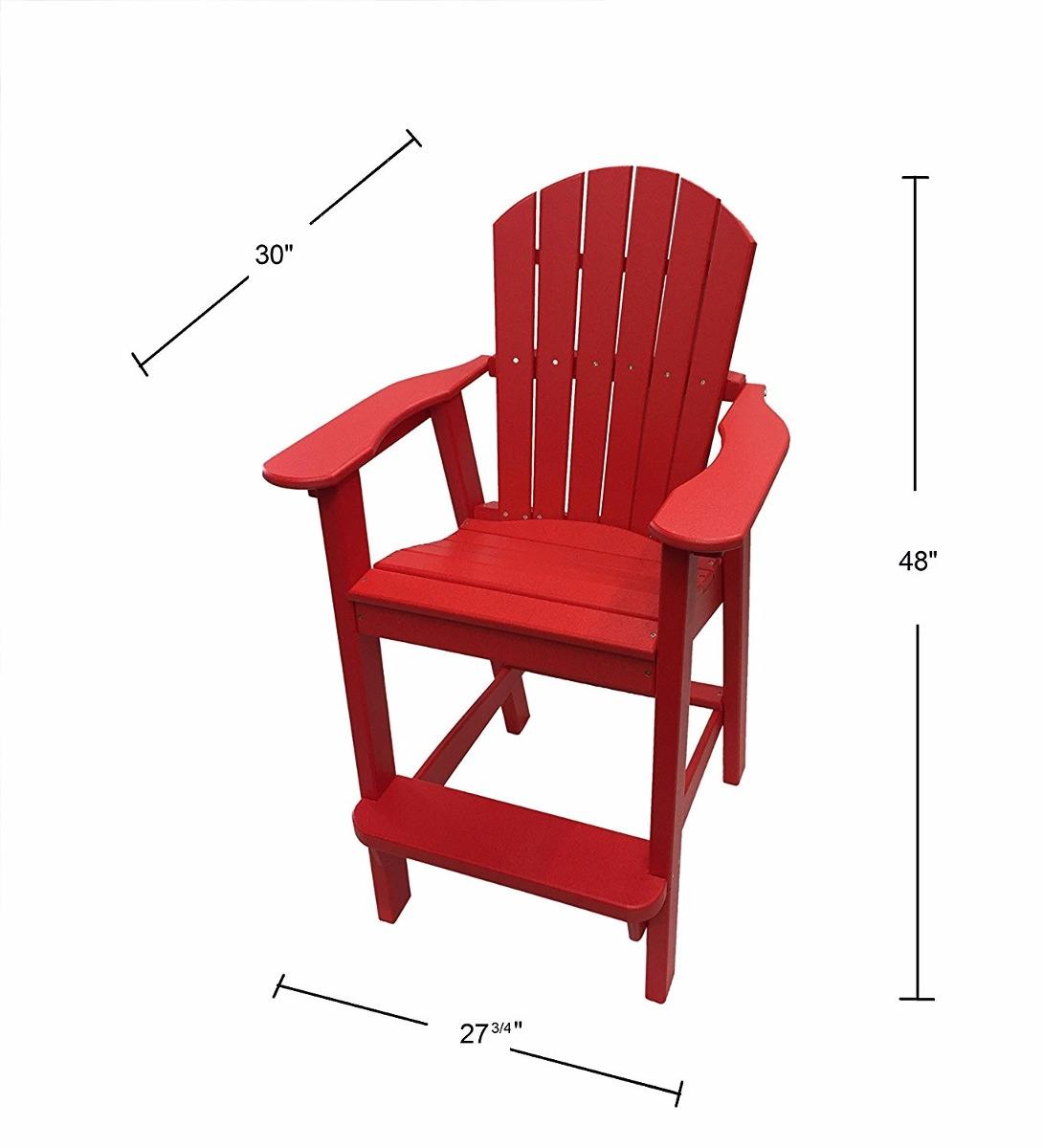 Sillas para balcon durables color rojo 22 en mercado libre - Sillas para balcon ...