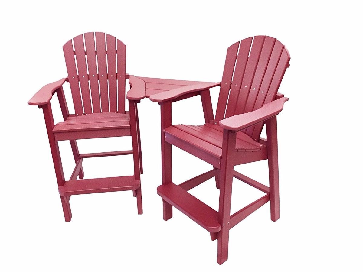 Sillas para balcon durables color rojo oscuro 23 699 - Sillas para balcon ...