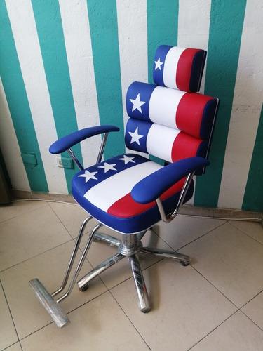 sillas para barbería