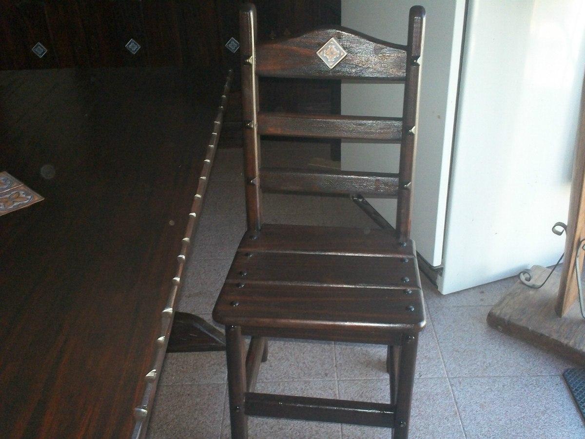 Sillas rusticas de madera para comedor mesa y sillas - Sillas rusticas de madera para comedor ...