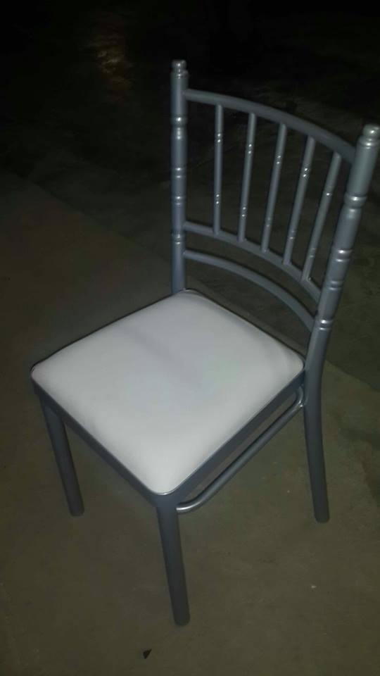 Sillas para eventos de metal y de madera s 720 00 en for Modelos de sillas de metal