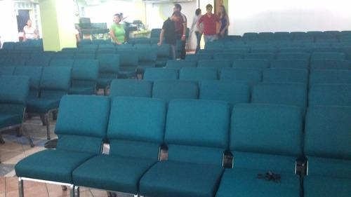 sillas para iglesias, auditorio y afines.