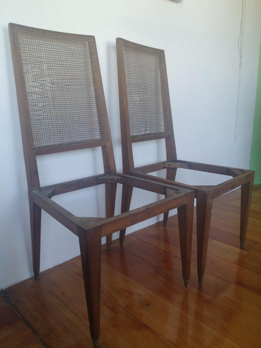 Sillas para tapizar buena madera firmes son dos iguales leer 580 00 en mercado libre - Precio tapizar sillas ...