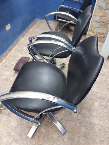 sillas peluqueria barberia