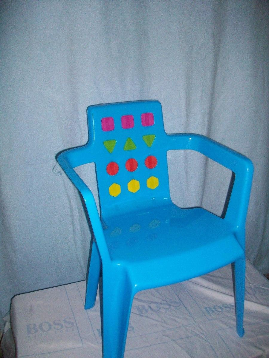 sillas plasticas para ni os bs en mercado libre