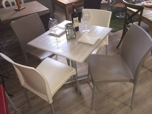 sillas plasticas para restaurantes