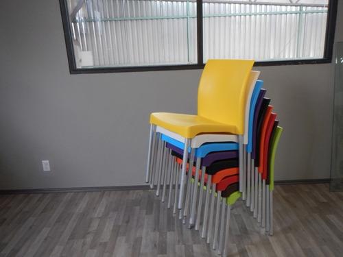 sillas plasticas para restaurantes mianso