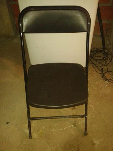 sillas plásticas plegables