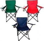 sillas playeras jardin o camping con bolso para transporte
