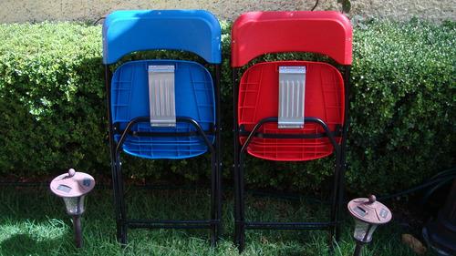 sillas plegables de fiesta