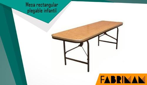 sillas plegables de plastico y tablones para negocio de rent