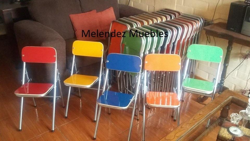 Sillas plegables infantiles en mercado libre for Precio de sillas plegables