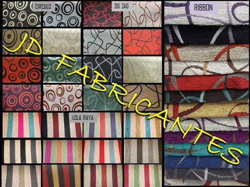 sillas reforzadas vestida tapizadas en chenille - oferta -