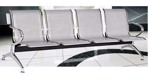 sillas sala de espera tandem recibo clinicas  10130