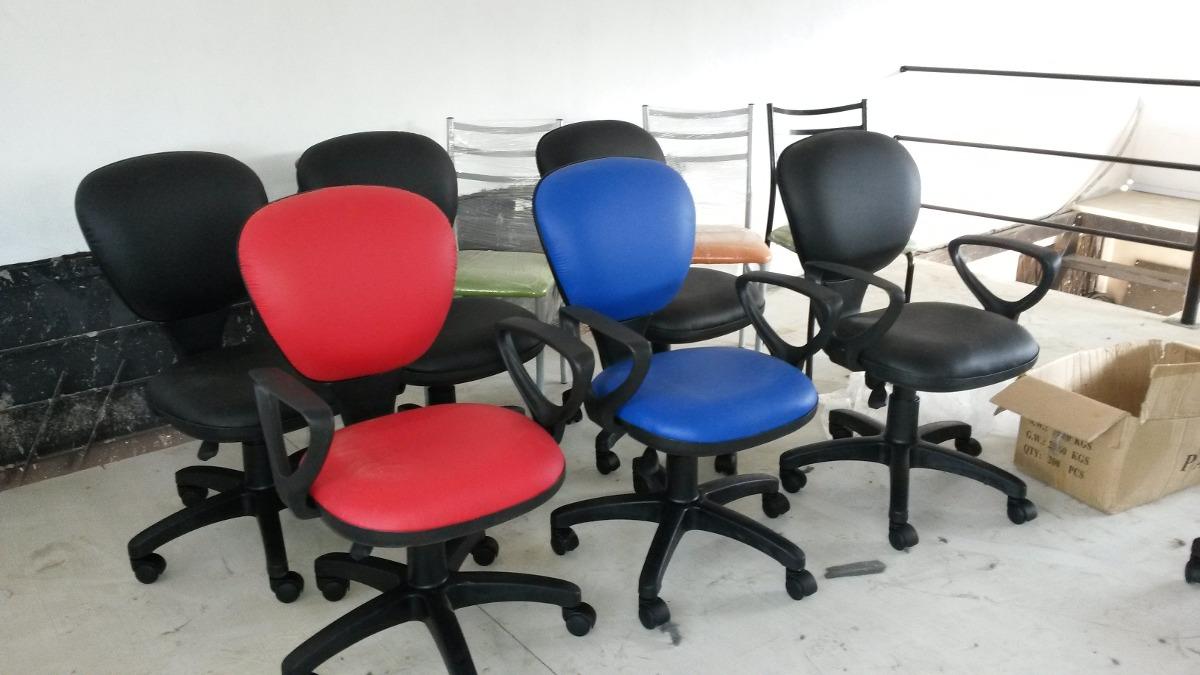 Sillas secretarias y sillones gerentes muebles de oficina for Muebles y sillones