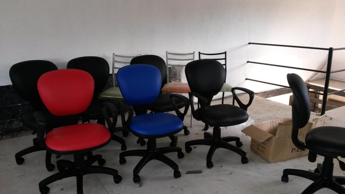 Sillas secretarias y sillones gerentes muebles de oficina for Sillas y sillones de oficina