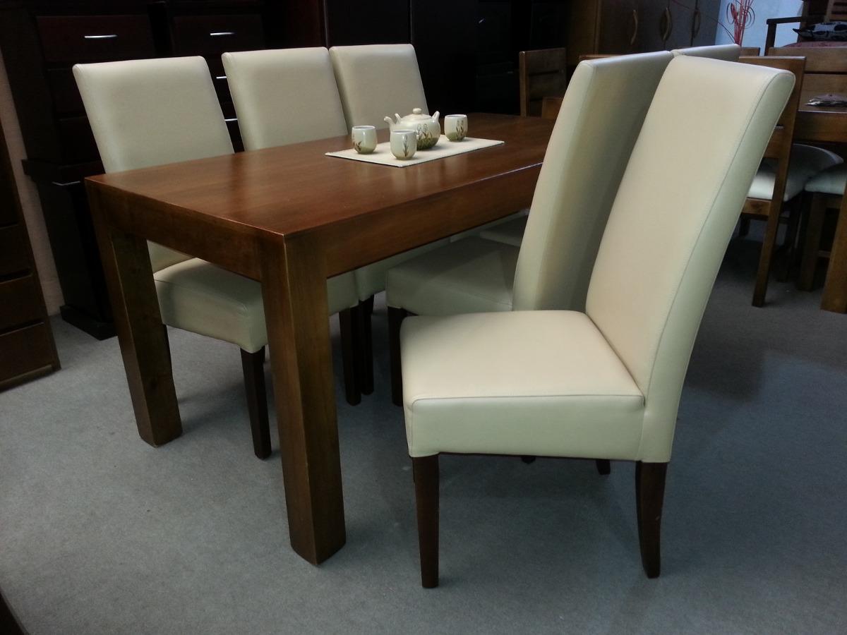 Juego de comedor con 6 sillas todas tapizada comedor for Precio juego de comedor con 6 sillas