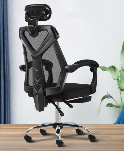 sillas sillon gamer reclinable oficina giratoria ergonomica
