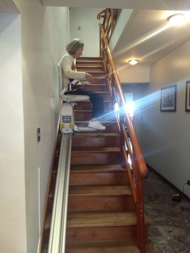 sillas sube salva escaleras ascensor discapacitados electric
