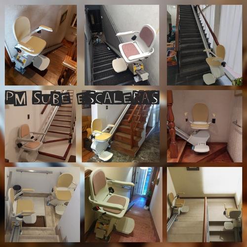 sillas sube salva escaleras pm sube escaleras