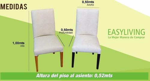 sillas super reforzadas encoladas y atornilladas modelo maru