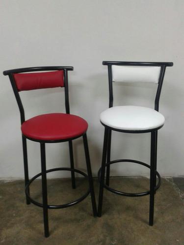 sillas taburetes, altos de hierro para barra o desayunador