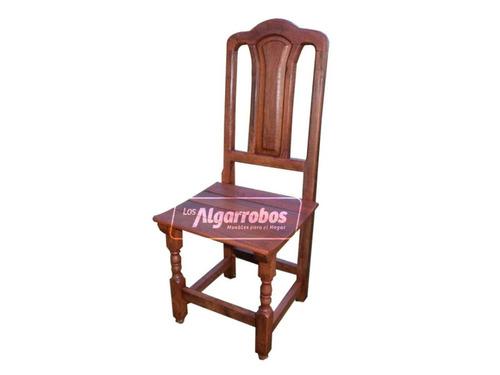 sillas tamaras  x6 + embalado gratis - no envió gratis