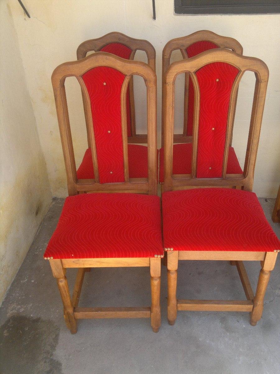 Sillas tapizadas muebles de algarrobo for Sillas con apoyabrazos tapizadas