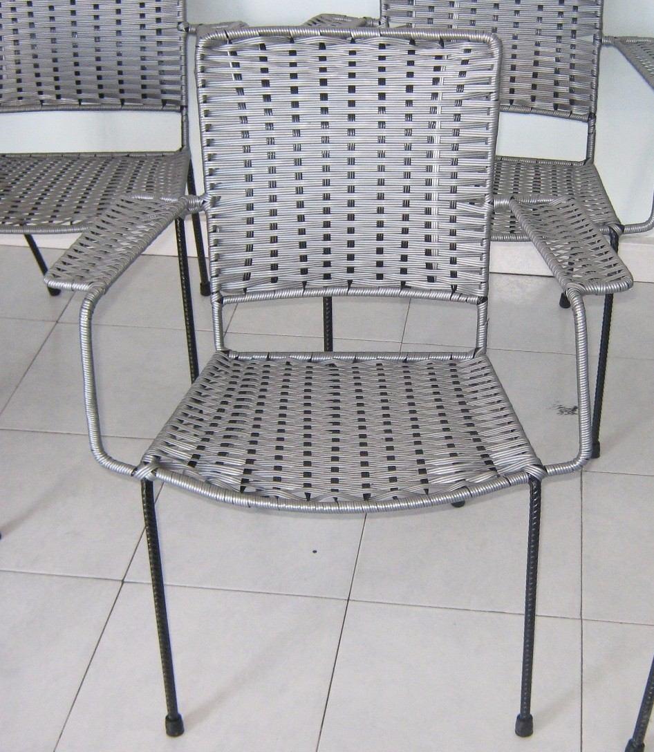 Sillas tejidas de plastico para restaurantes y bares - Sillas de jardin de plastico ...