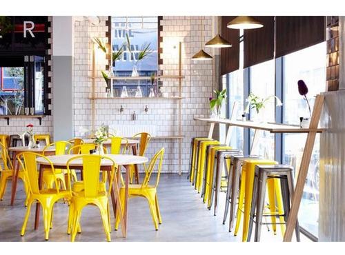 sillas tolix metal colores living comedor importadas oferta