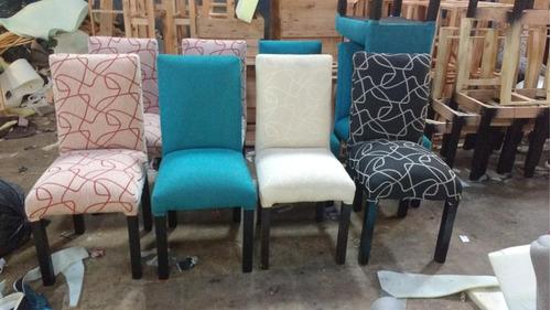 sillas vestidas tapizadas, en chenille, fabricantes!