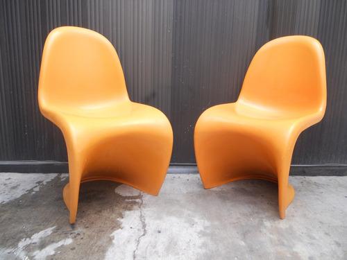 sillas vintage panton 3000 pesos las dos