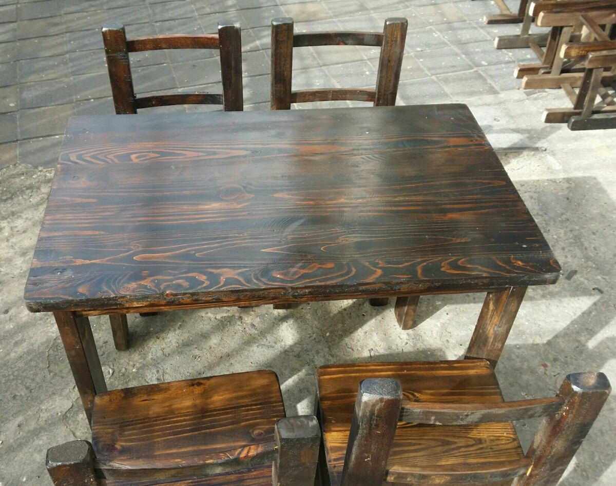 Rusticas para bares great comprar lmparas bar with for Mesas para bar rusticas