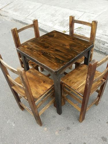 sillas y mesas bar restaurante cafeteria nuevos