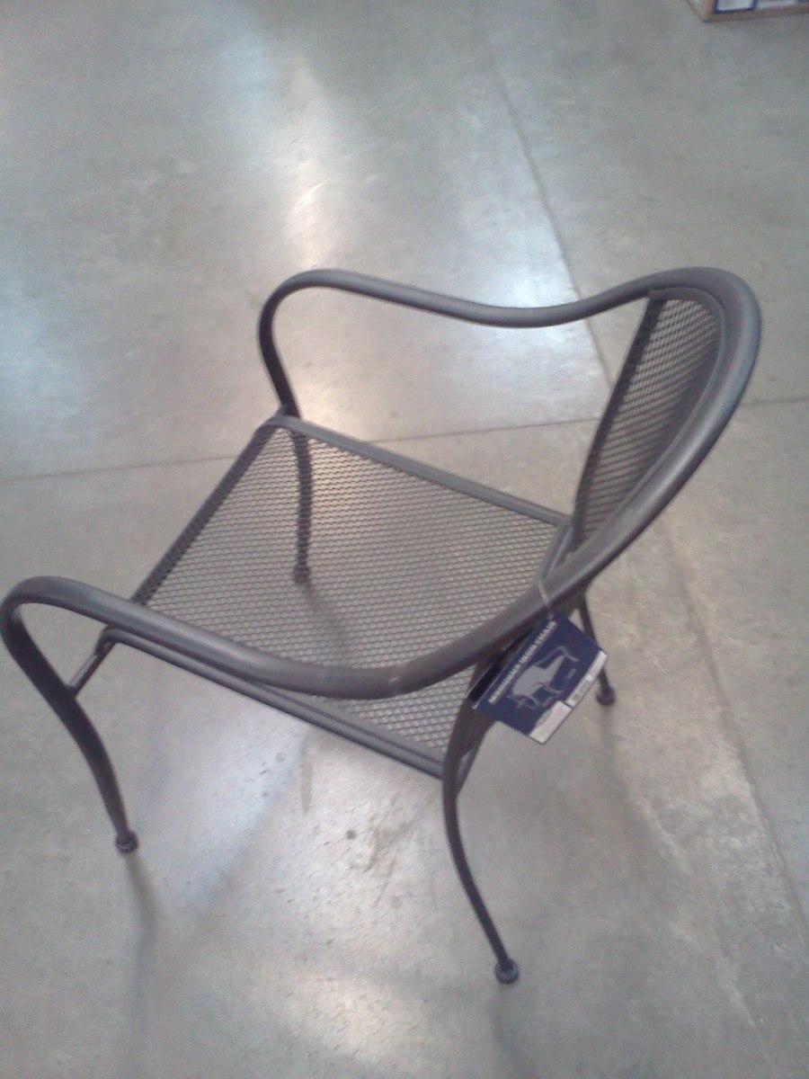 Sillas y mesas de metal uso rudo bar jardin restaurant - Sillas de jardin de plastico ...