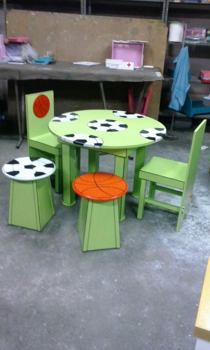 Sillas y mesas infantiles bs en mercado libre for Mercado libre mesas y sillas