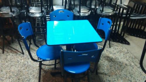 sillas y mesas para bar