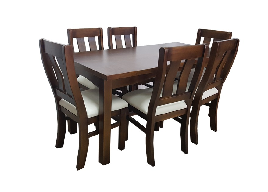 Sillas y mesas para comedor o cocina 100 madera maciza for Mesas y sillas de madera para cocina